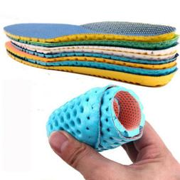 1 Pair Shoes Insoles Orthopedic Memory Foam Sport Arch Runni