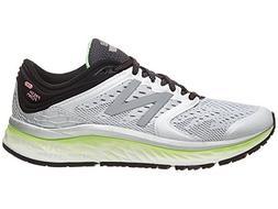 New Balance Women's 1080v8 Fresh Foam Running Shoe, White/Bl