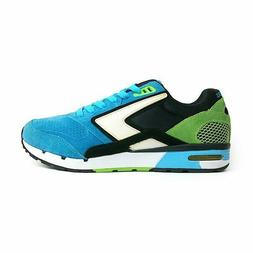 {1101941D478} Men's BROOKS HERITAGE FUSION RUNNING SHOES BLU