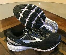 $120 Brooks Ghost 10 Running Shoes Black Silver Gray White M