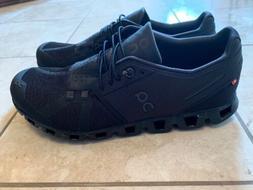 ON Cloud  2.0 Men's Running Shoes All Black Men's Size 10.