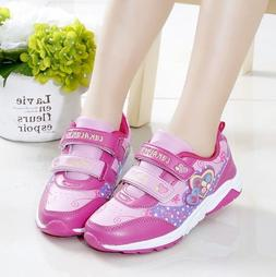 2018 Fashion Sports Shoes for Children Girls Running Shoes P