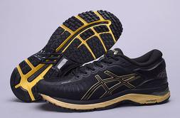 ASICS Men's MetaRun Running Shoes BLACK/ONYX/GOLD T641N.9099