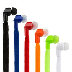 3.5mm Super Bass Stereo Earphone Shoes Lace Wired Sports Run