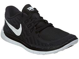 Nike Kids Free 5.0 Black/White/Dark Grey/Cl Grey Running Sho