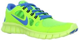 Nike Free 5.0  Boys Running Shoes 580558-300 Flash Lime 5 M