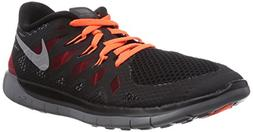 Nike Kids Free 5.0  Black/Mtllc Slvr/Drk Gry/Gym Rd Running