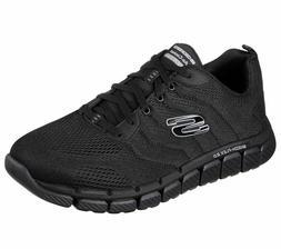 52619 Black Skechers shoes Men Memory Foam Comfort Sport Run
