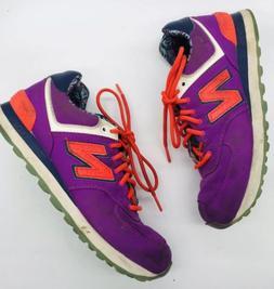 New Balance 574 WL574ILB Violet Running Shoes Women's sz 7 B