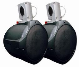 MCM Custom Audio 60-10021 Marine Wakeboard Speaker Pair Blac