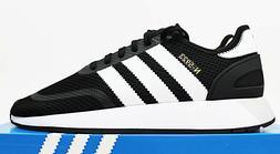 $90 NIB ADIDAS N-5923 Men's Core Black Low Top Sneakers Trai