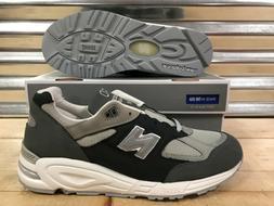 New Balance 990 990v2 Running Shoes Retro Gray White Made In
