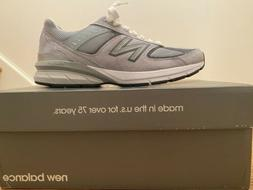 New Balance 990v5 Lifestyle Running Shoes Grey Men Original
