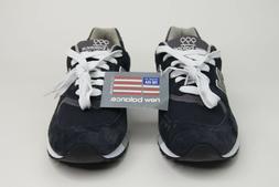 New Balance 999 Classic Retro Running Shoes Navy Blue Gray U