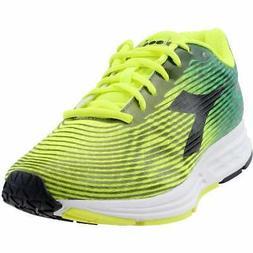 Diadora Action +3  Casual Running  Shoes - Yellow - Mens