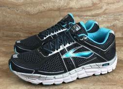 Brooks Addiction A 12 Women's Running Shoes Blue Grey Silv