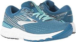 Brooks Women's Adrenaline GTS 19 Blue/Aqua/Ebony 9 B US