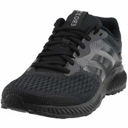 aerobounce casual running neutral shoes black mens