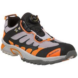 Vasque Men's Aether Tech Trail Runner,Dove/Orange,9.5 M US