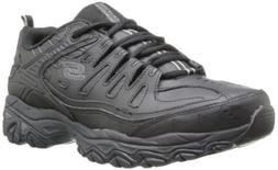 Skechers After Burn Memory Fit Reprint Mens Sneakers Black 8