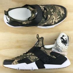 Nike Air Huarache Drift Premium Camo Green Running Shoes  Si
