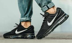 Nike Air Max 2017 Running Shoes Black Anthracite White 84955