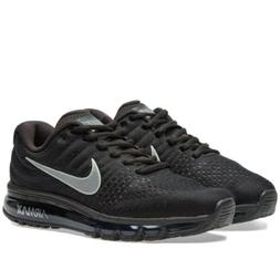 Nike Air Max 2017 Black Anthracite  Running Shoes Multiple M