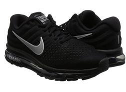 "Nike Air Max 2017 ""Triple Black""  Running Shoes Multiple"