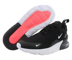 Nike Air Max 270 Girls Shoes Size 2, Color: Black/White/Anth