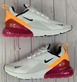 Nike Air Max 270 Running Shoe Laser Fuchsia Pink Womens 12 M