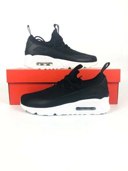 Nike Air Max 90 EZ GS Black White Kids Youth Running Shoes A