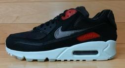 Nike Air Max 90 Premium Size 7.5 Vinyl Black Cool Grey Teal
