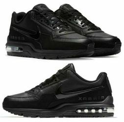 Nike Air Max LTD 3 Triple Black 687977-020 Running Shoes Men