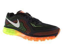 Men's Nike 'Air Max 2014' Running Shoe Black/ Sail/ Orange/