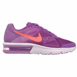 Nike Air Max Sequent GS Running Kids Youth Shoes Vivid Purpl