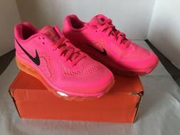Nike Air Max Women's Hot Pink Orange Running sz 8.5 US Sho