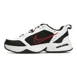 NIKE AIR MONARCH IV MENS TRAINING RUNNING  WIDE SHOES WHITE