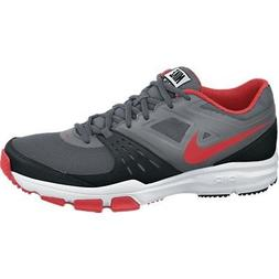 Nike Mens Air One TR Cross Trainer, Dark Grey/Lt Crmsn/Blk/M