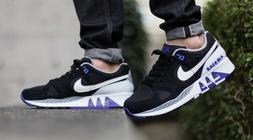 Nike Air Stab Men's Running Shoes Black Persian Violet Purpl
