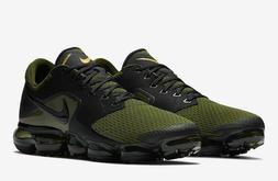 Nike Air Vapormax Black Sepia Stone Green Men Running Shoes