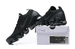 NIKE AIR VaporMax Flyknit 3  (Black) Running Shoes - 201