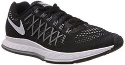 Nike Mens Air Zoom Pegasus 32 Running Shoes Black/Dark Grey/