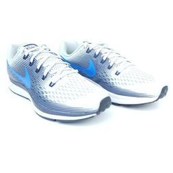 Nike Air Zoom Pegasus 34 Mens Running Shoes Blue Black White