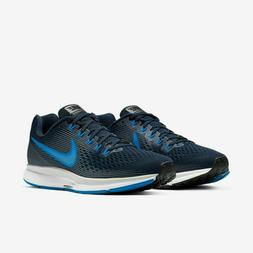 Nike Air Zoom Pegasus 34 Running Shoes Obsidian Blue White 8