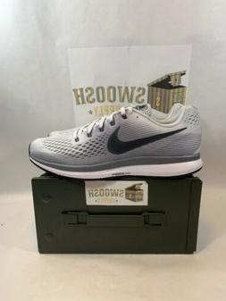 Nike Air Zoom Pegasus 34 Running Shoes Pure Platinum Mens Sz