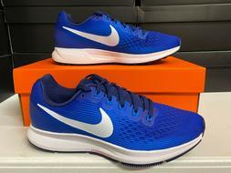 Nike Air Zoom Pegasus 34 Running Shoes Royal Blue White 8805