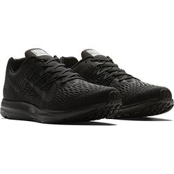 NIKE Men's Air Zoom Winflo 5 Running Shoe Black/Anthracite 1