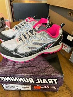 FILA All TKO TR 7.0 Gray Pink Trail Running Shoes Women's