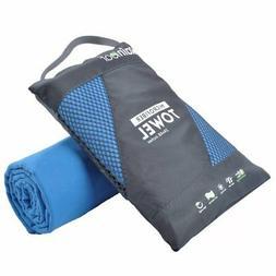 RainLeaf Antibacterial Microfiber Towel XX-Large 40 x 72in B