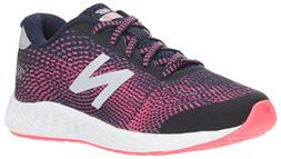 New Balance Girls' Arishi Next V1 Running Shoe, Pigment, 12